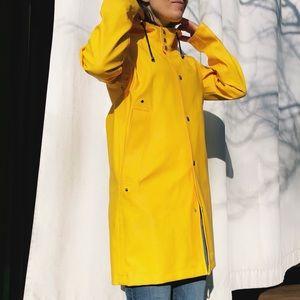 Yellow Reykjavik Raincoat